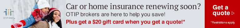 Car or home insurance renewing soon? OTIP  brokers are here to help you save!